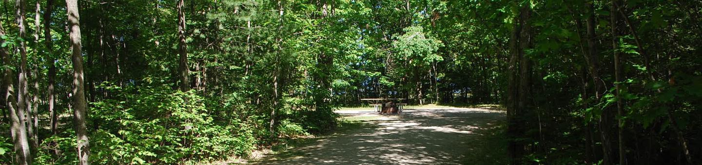 Little Bay de Noc Campground site #01