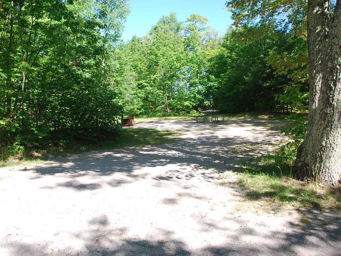 Little Bay de Noc Campground site #05