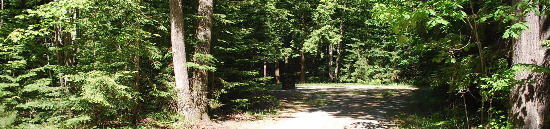 Little Bay de Noc Campground site #10