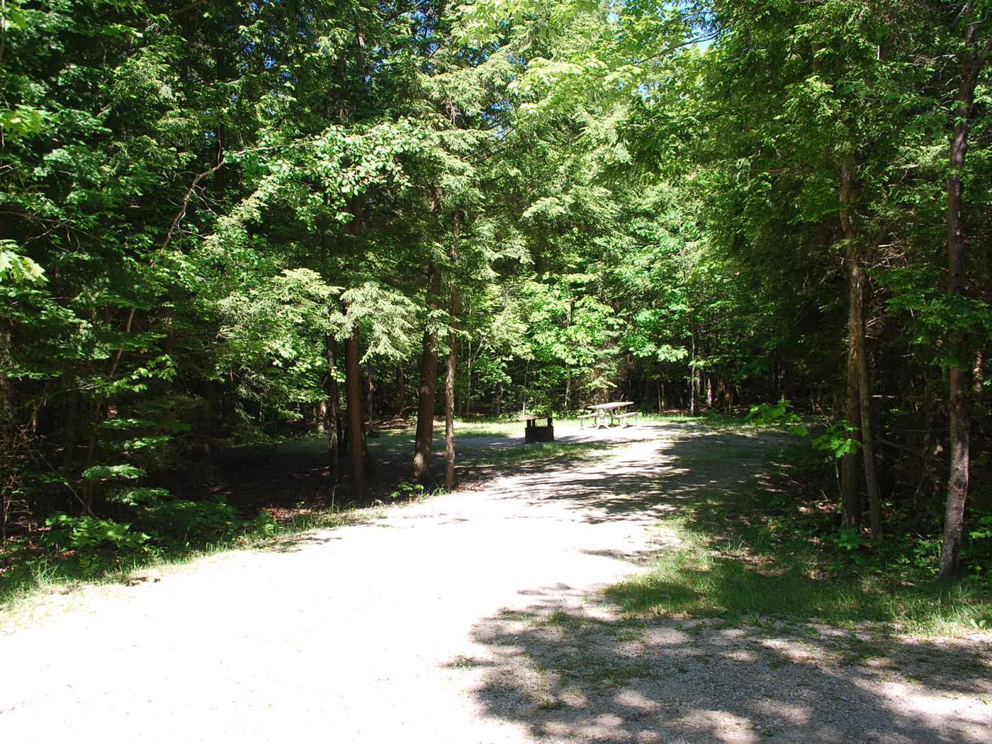 Little Bay de Noc Campground site #13
