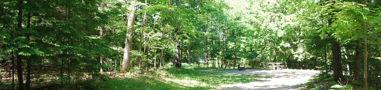 Little Bay de Noc Campground site #14