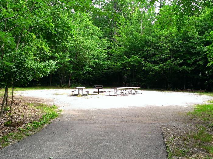Little Bay de Noc Campground site #15
