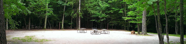 Little Bay de Noc Campground site #16