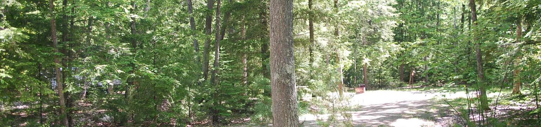 Little Bay de Noc Campground site #17