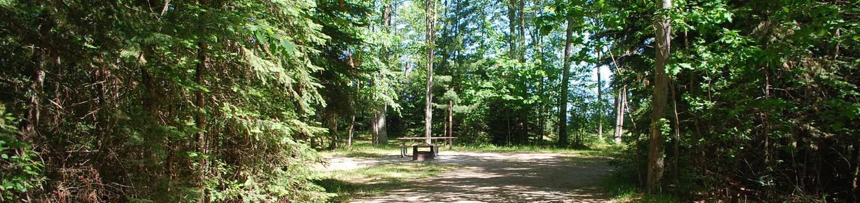 Little Bay de Noc Campground site #31