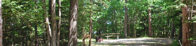 Little Bay de Noc Campground site #32