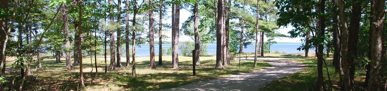 Little Bay de Noc Campground site #33