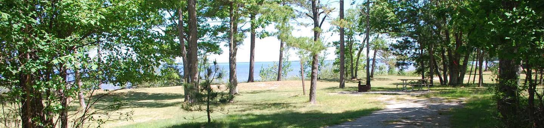 Little Bay de Noc Campground site #35