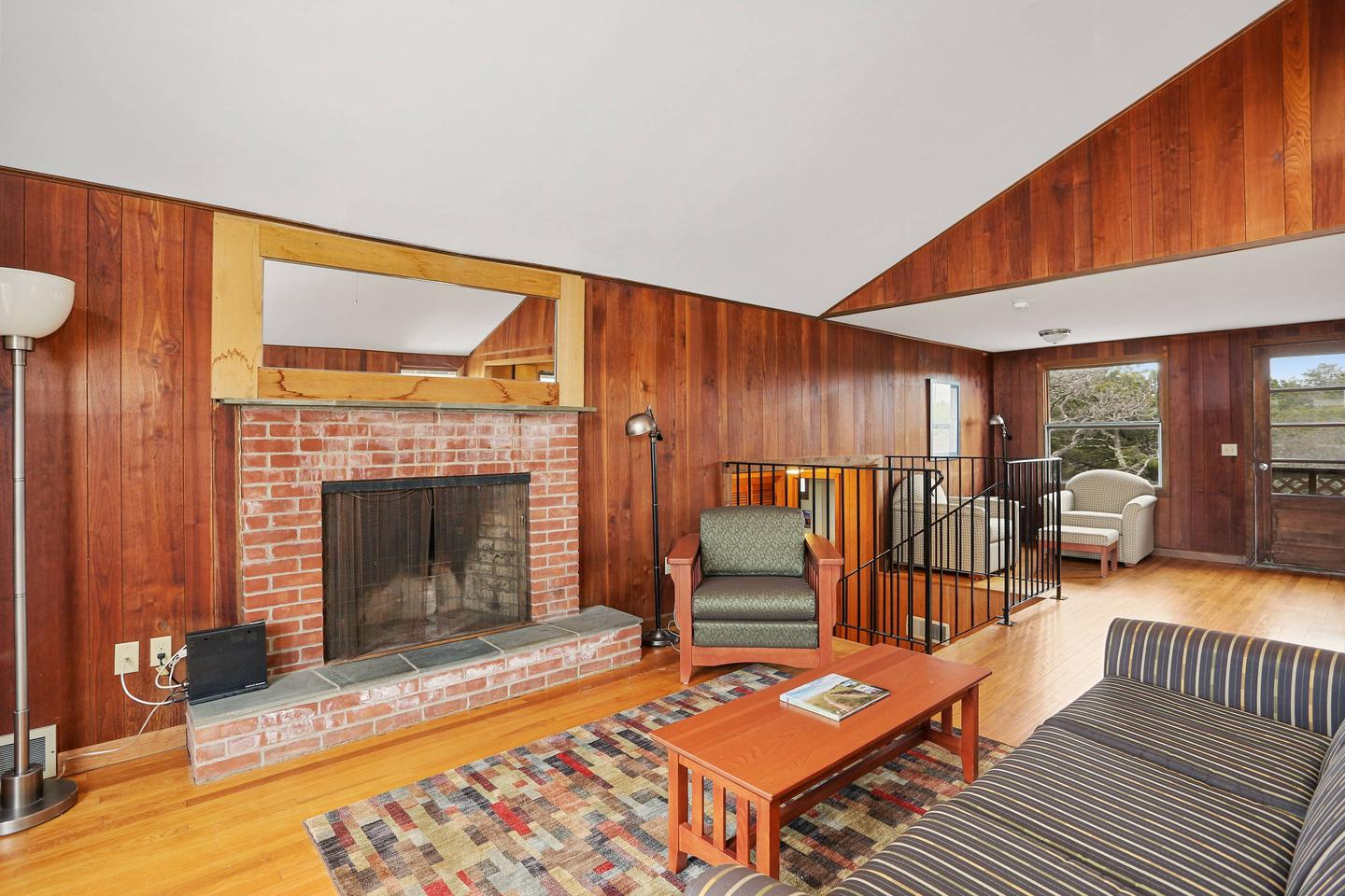 Entertain friends and family in the expansive living room