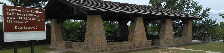 Veterans Lake Pavilion