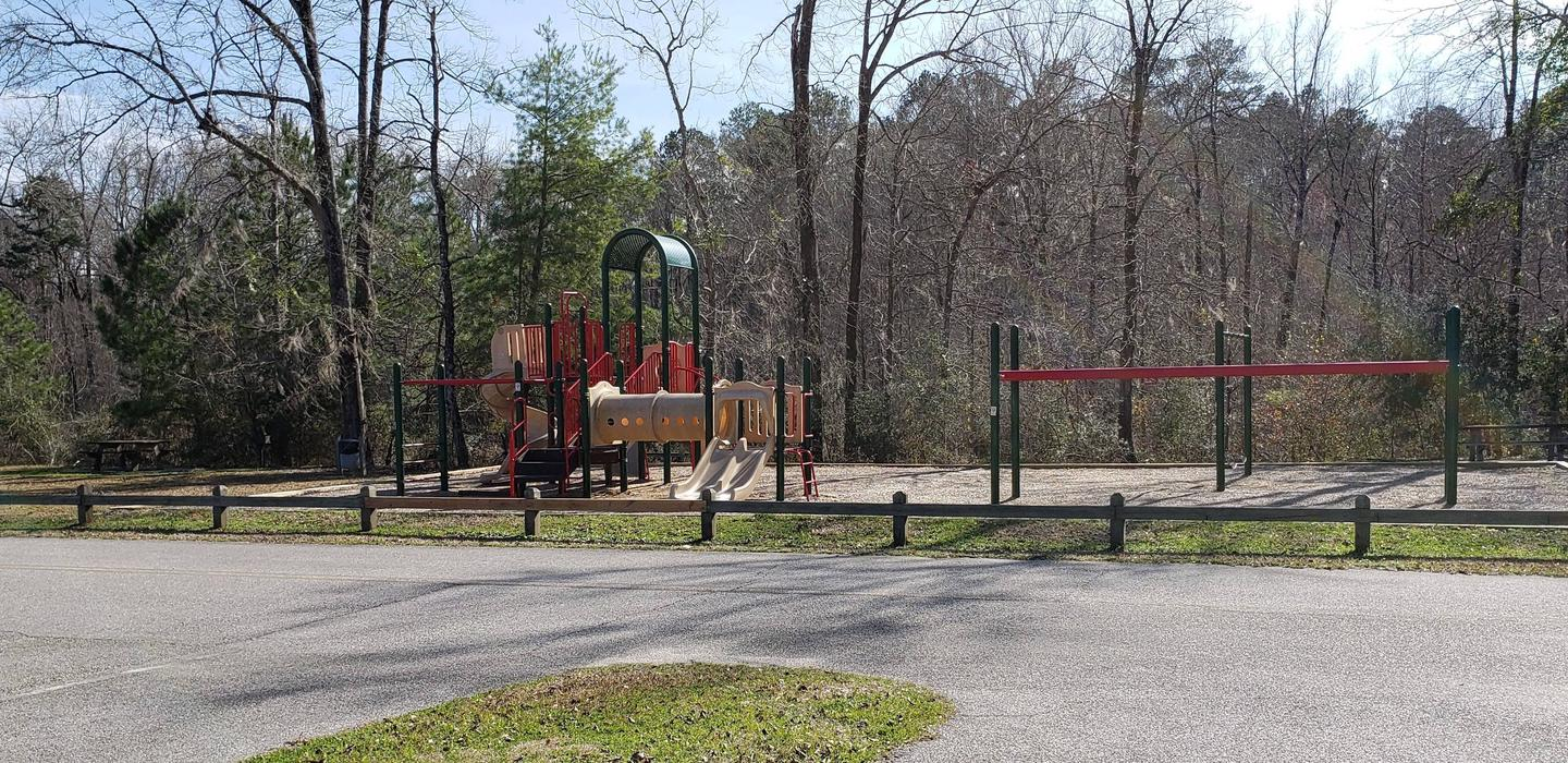 Playground in Day Use Area