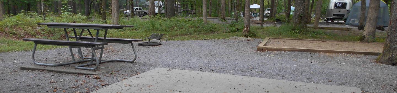 Cades Cove Campground C52C52 Generator Free Area