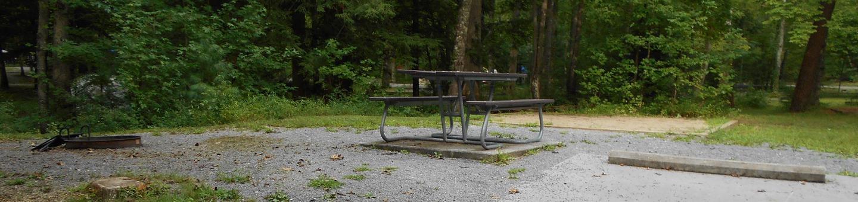 Cades Cove Campground C58C58 Generator Free Area