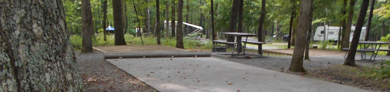 Cades Cove Campground C74C74 Generator Free Area