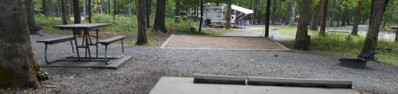 Cades Cove Campground C75C75 Generator Free Area