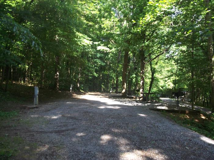 Poole Knobs Campground Site 29