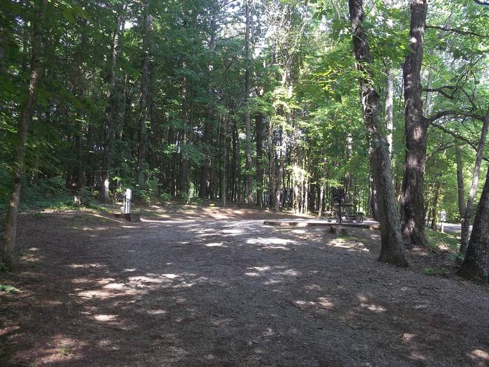 Poole Knobs Campground Site 39
