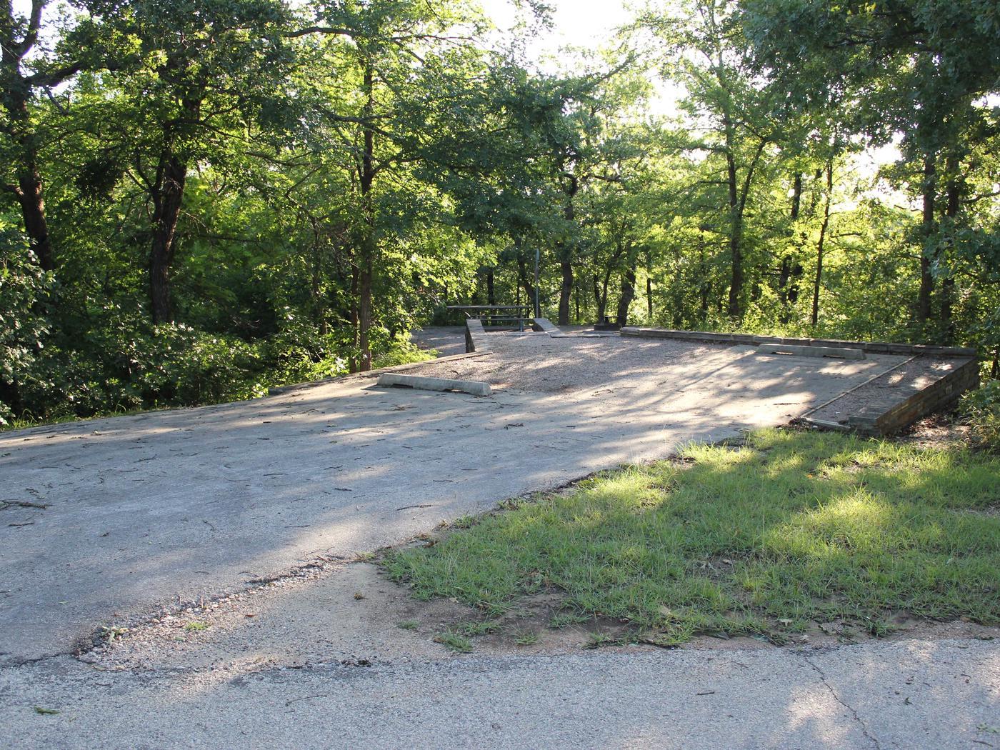 Site #46 Point Campground