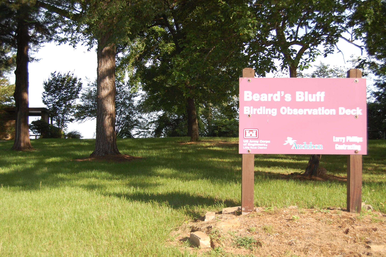 BEARD'S BLUFF PARK BIRDING OBSERVATION DECK