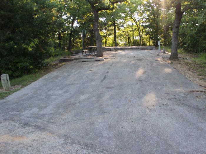 Site #52 Point Campground