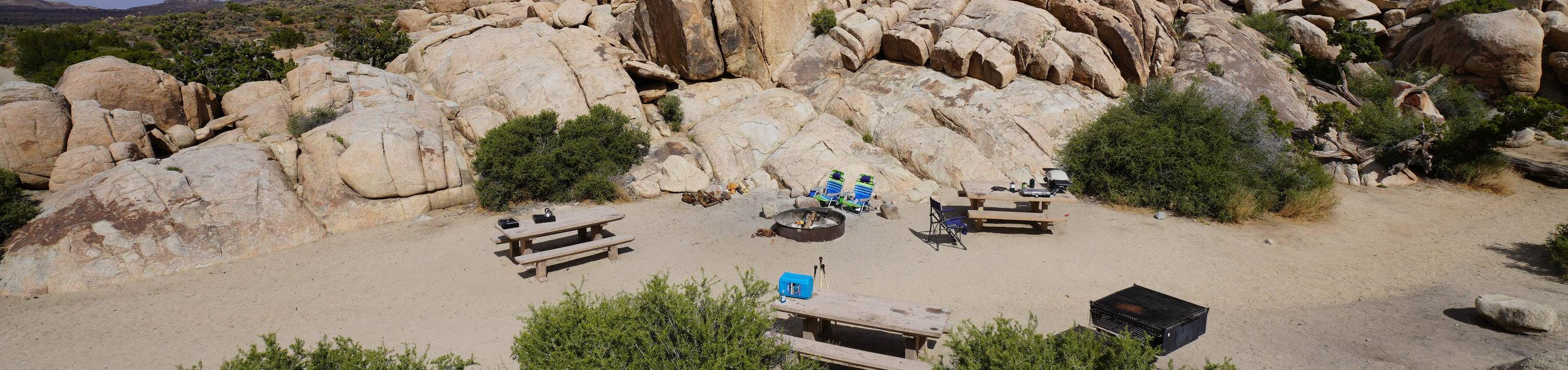 Sheeps Pass Group site 2View of Campsite
