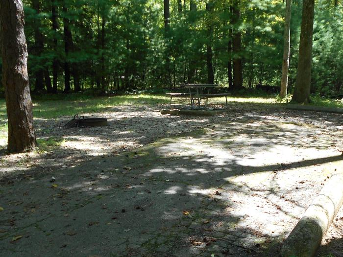 Cades Cove Campground B2B2 Generator Site