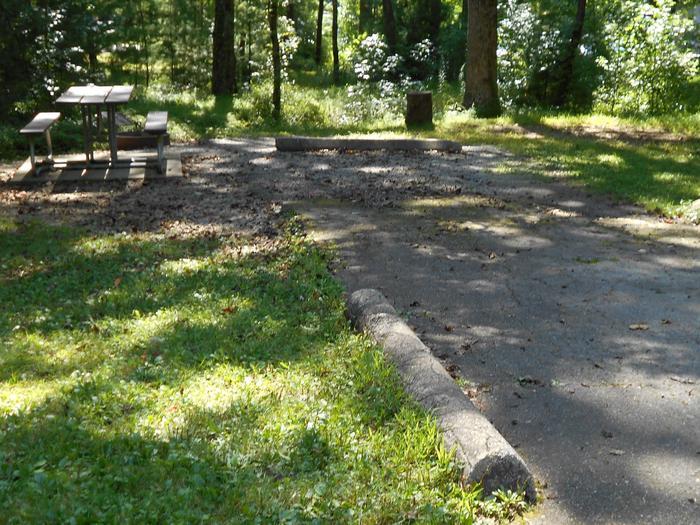 Cades Cove Campground B5B5 Generator Site