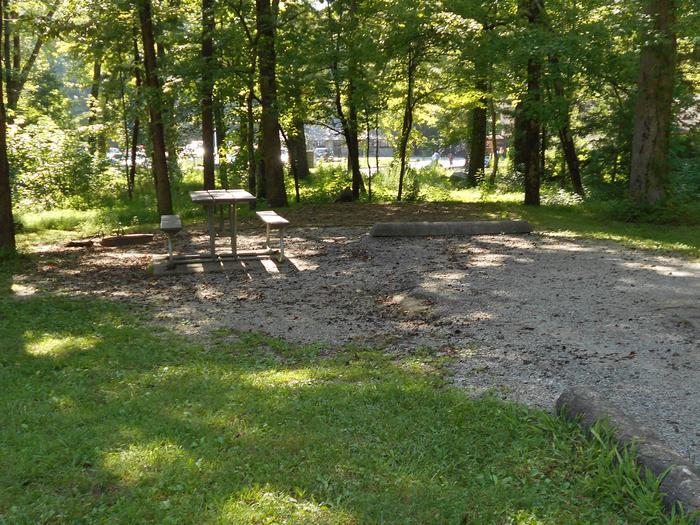 Cades Cove Campground B7B7 Generator Site