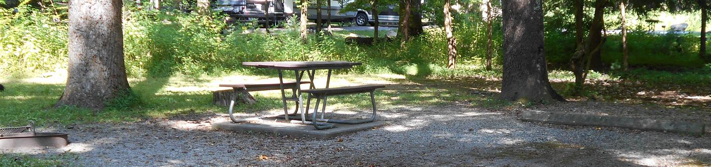 Cades Cove Campground B16B16 Generator Site