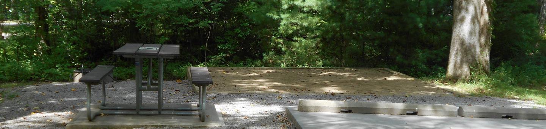 Cades Cove Campground B17B17 Generator Site