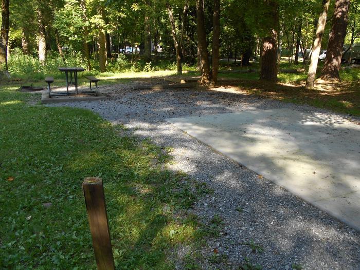 Cades Cove Campground B25B25 Generator Site