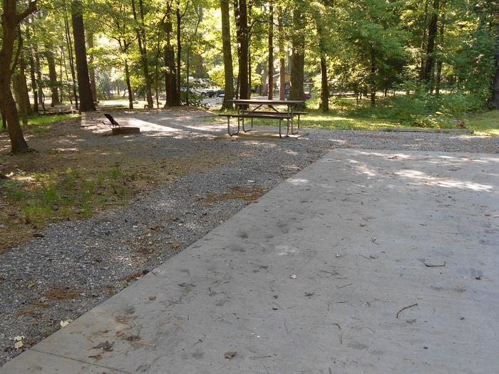 Cades Cove Campground B28B28 Generator Site