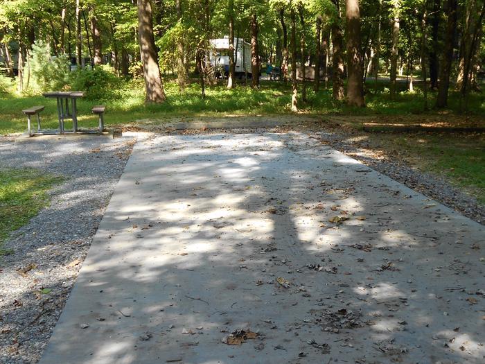 Cades Cove Campground B29B29 Generator Site