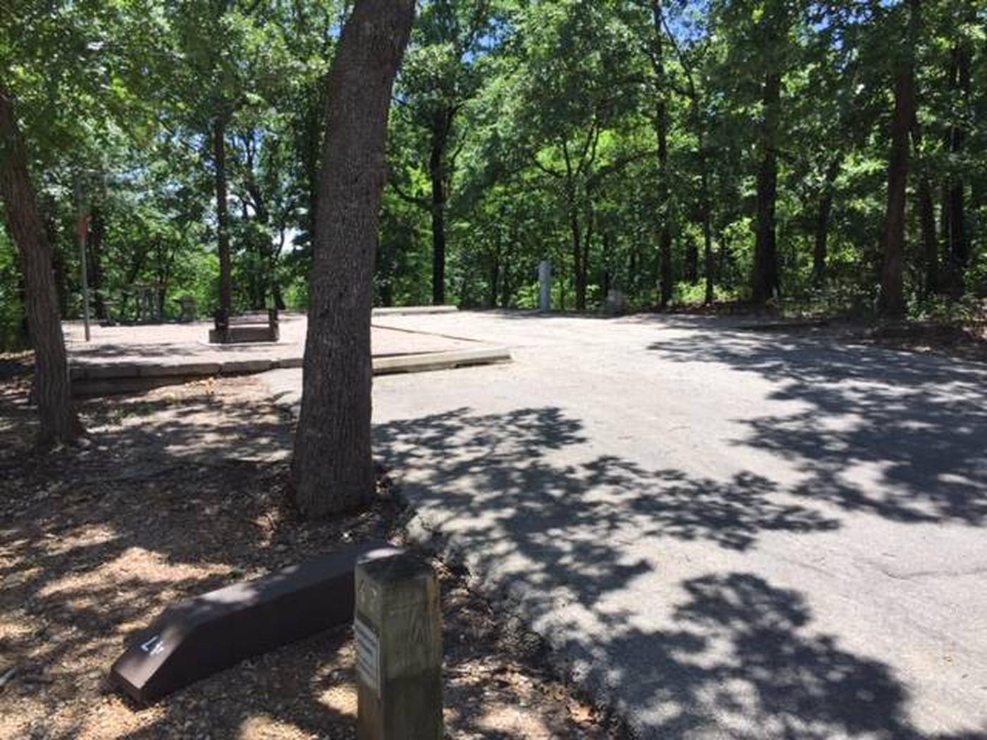 Site #47 Point Campground