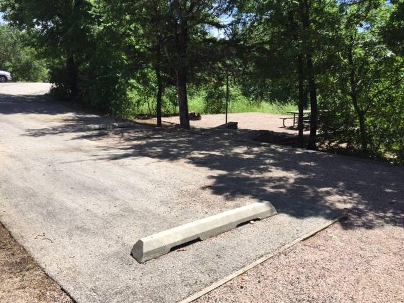 Site #51 Point Campground