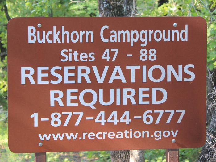 Preview photo of Buckhorn Campground (OK) Chickasaw Nra