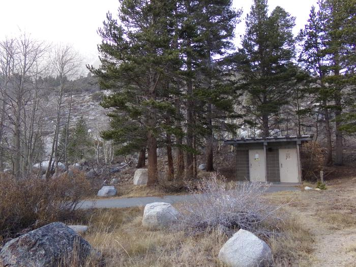 Rock Creek Lake Group Campground restroom building