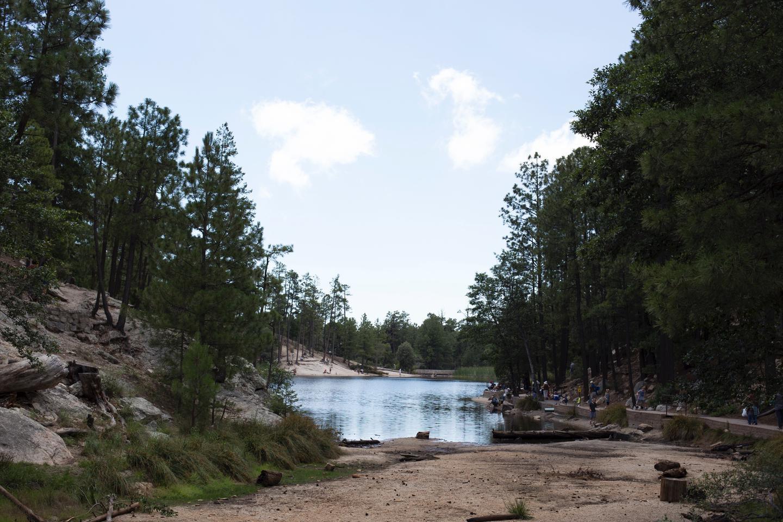 Rose Canyon Lake.Rose Canyon Lake