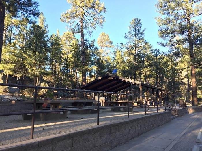 Rose Canyon Lake Campground Group Site