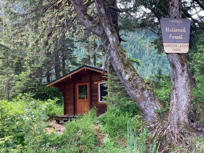 Harrison Lagoon Cabin