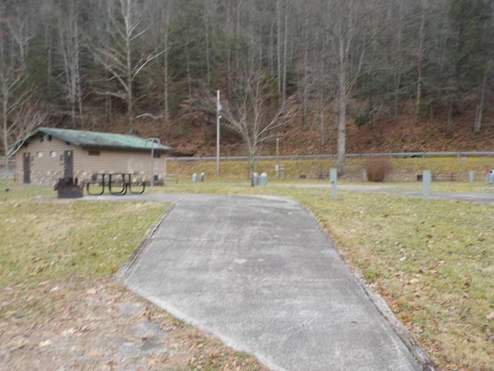 CRANESNEST CAMPGROUND (VA)Campsite #15