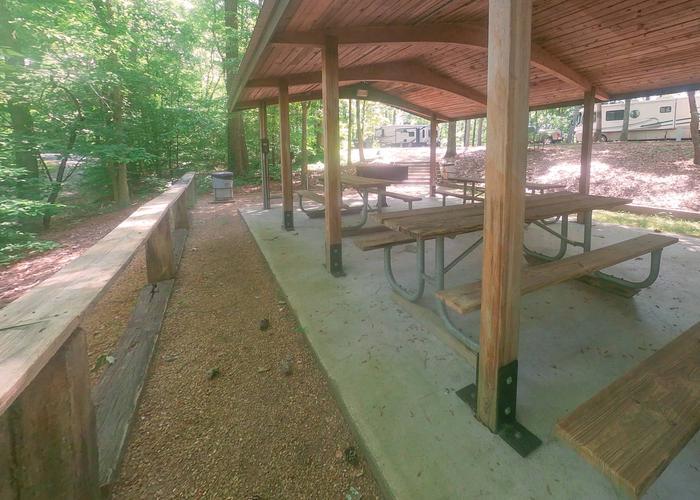 Group Site 28 Pavillion...Sweetwater Campground, group campsite 28 pavillion.
