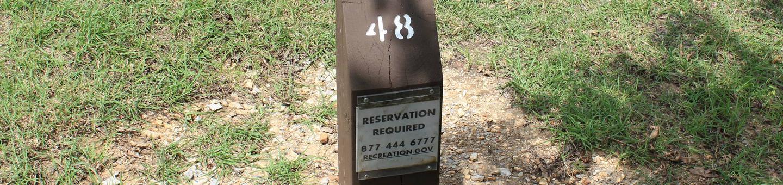 Site #48 Point Campground
