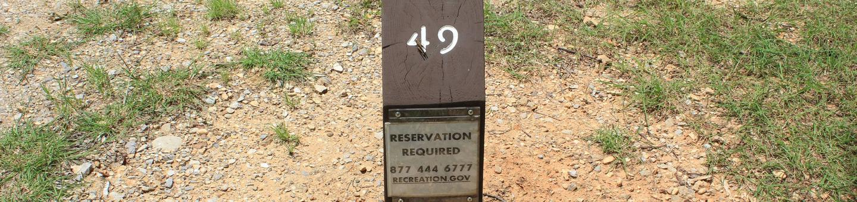 Site #49 Point Campground