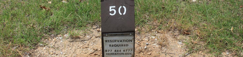 Site #50 Point Campground