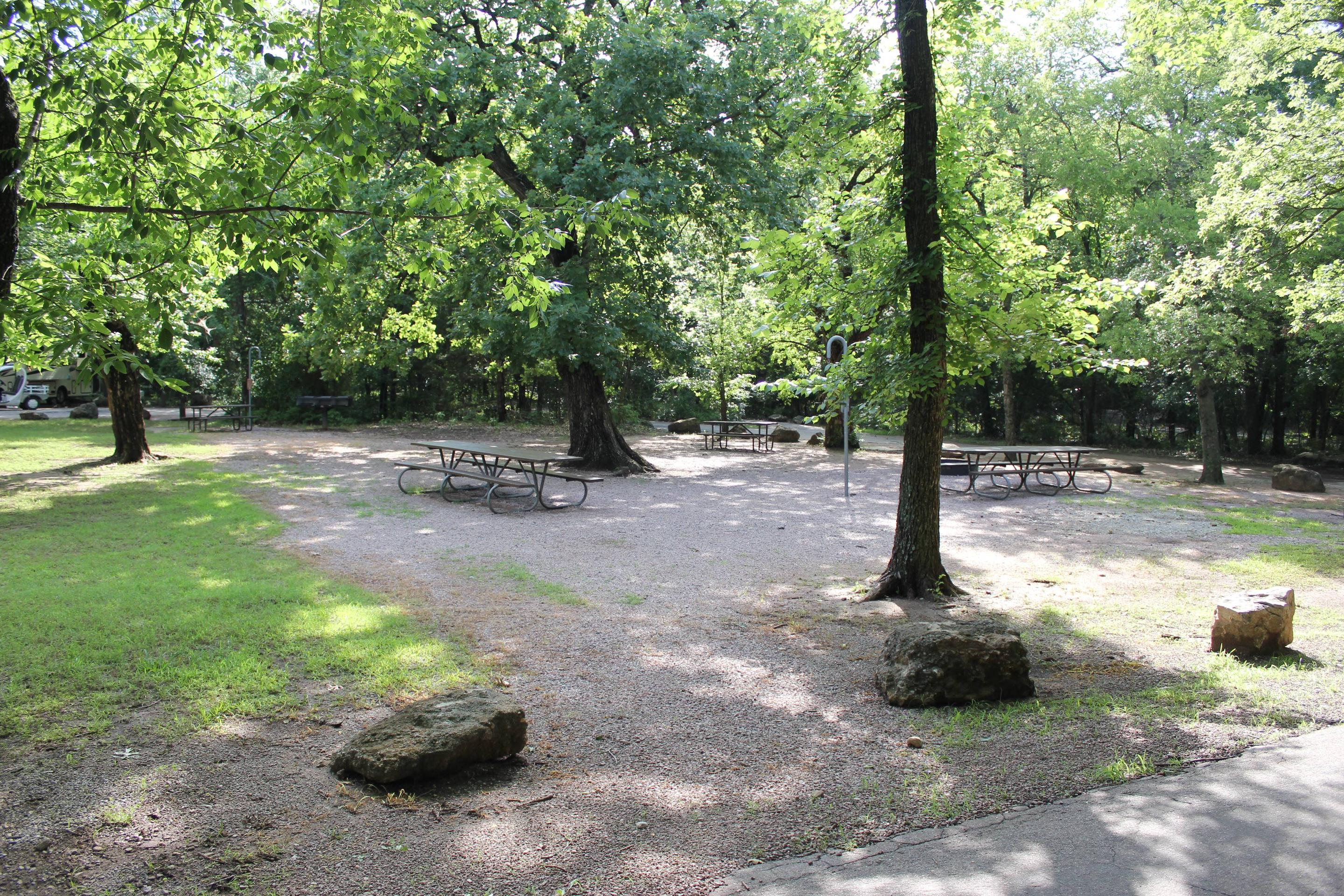 Group Site Rock Creek Campground CNRA
