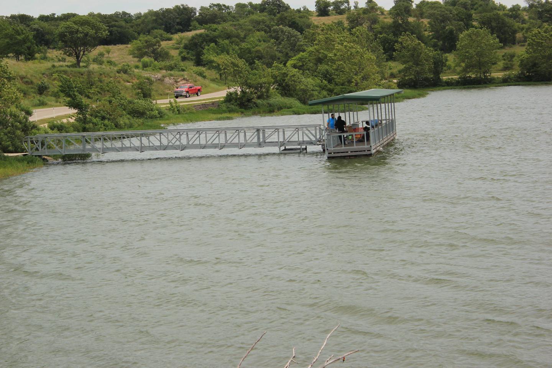 Fishing dock at Veteran's Lake