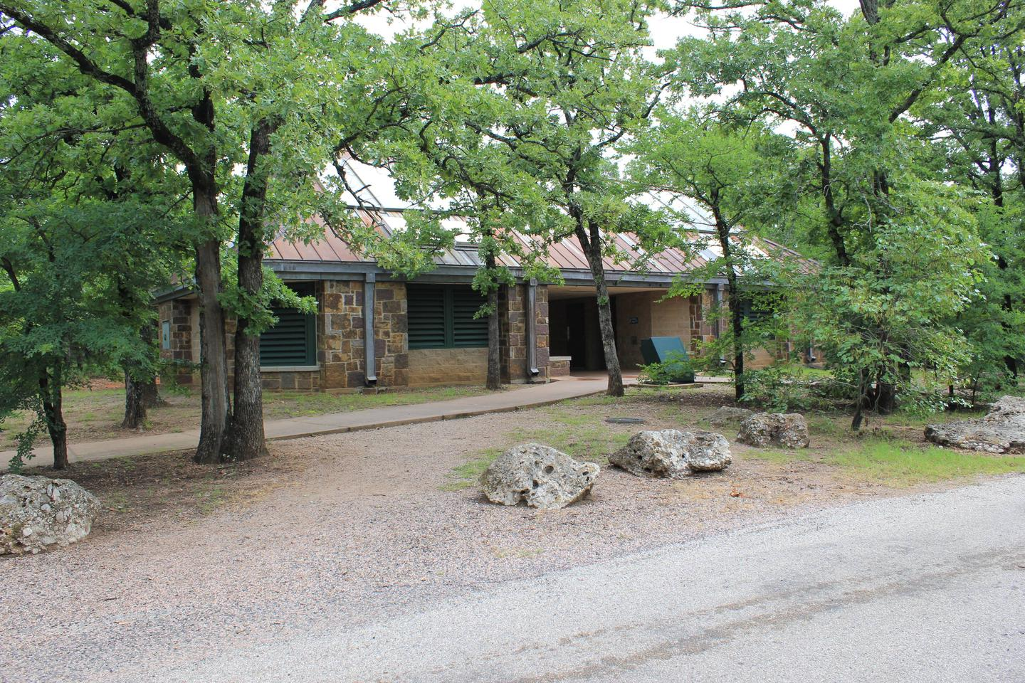 Campground Shower And Rest Room Facilities C Loop