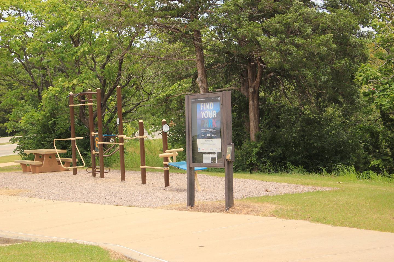 Children's Play area at Veteran's Lake