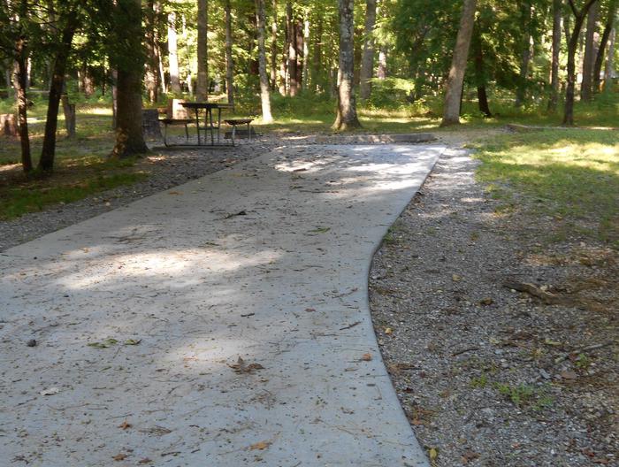Cades Cove Campground B37